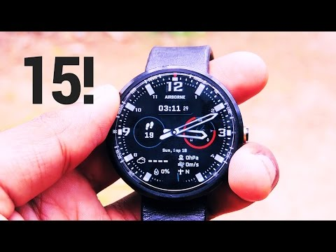 15 Best Watchfaces For Your Android Smartwatch (Android Wear)