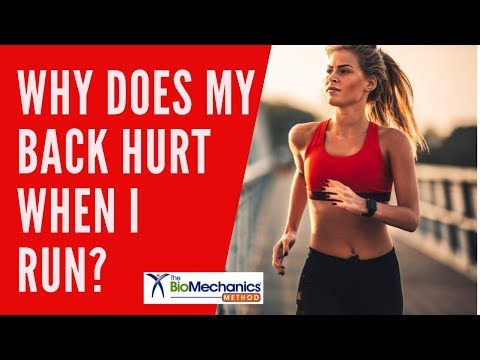 Back Pain When Running? Fix it Fast