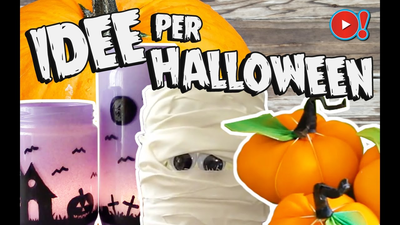 Fai da te decorazioni per halloween videopazzeschi tv for Decorazioni torte halloween fai da te