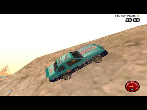 gta samp part 15 : my skills of drive  in horting racer of iheb :D