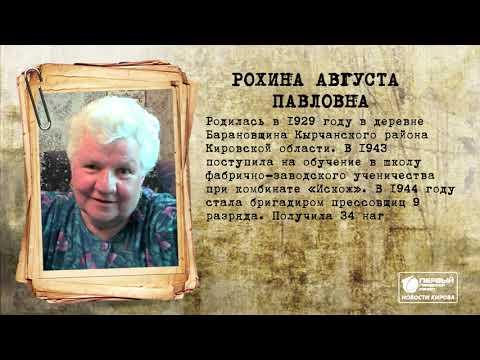 Бессмертный полк онлайн  Новости Кирова  08 04 2020