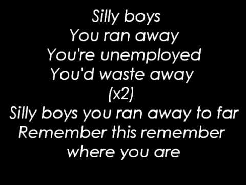 The Blue Van - Silly Boys ( Lyrics )