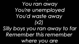 The Blue Van - Silly Boys ( Lyrics )
