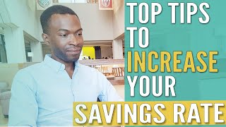 Tips On Increasing Your Savings Rate To Become Mortgage Free | Financial Independence
