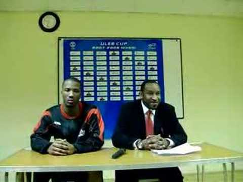 Interview with Paul James and Danny Gilbert 15/1/08