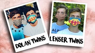 Близнецы повторяют фото близнецов! 🔥Dolan Twins🔥Martinez Twins🔥Lenser Twins