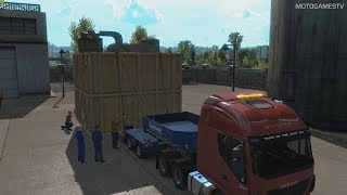 Euro Truck Simulator 2 - Massive Tech Part - Special Transport DLC