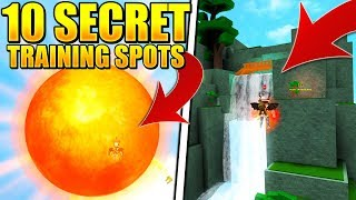 10 NEW SECRET TRAINING LOCATIONS IN SUPER POWER TRAINING SIMULATOR UPDATE! (ROBLOX)