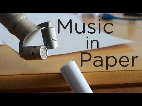 Music in Objects 1: Paper