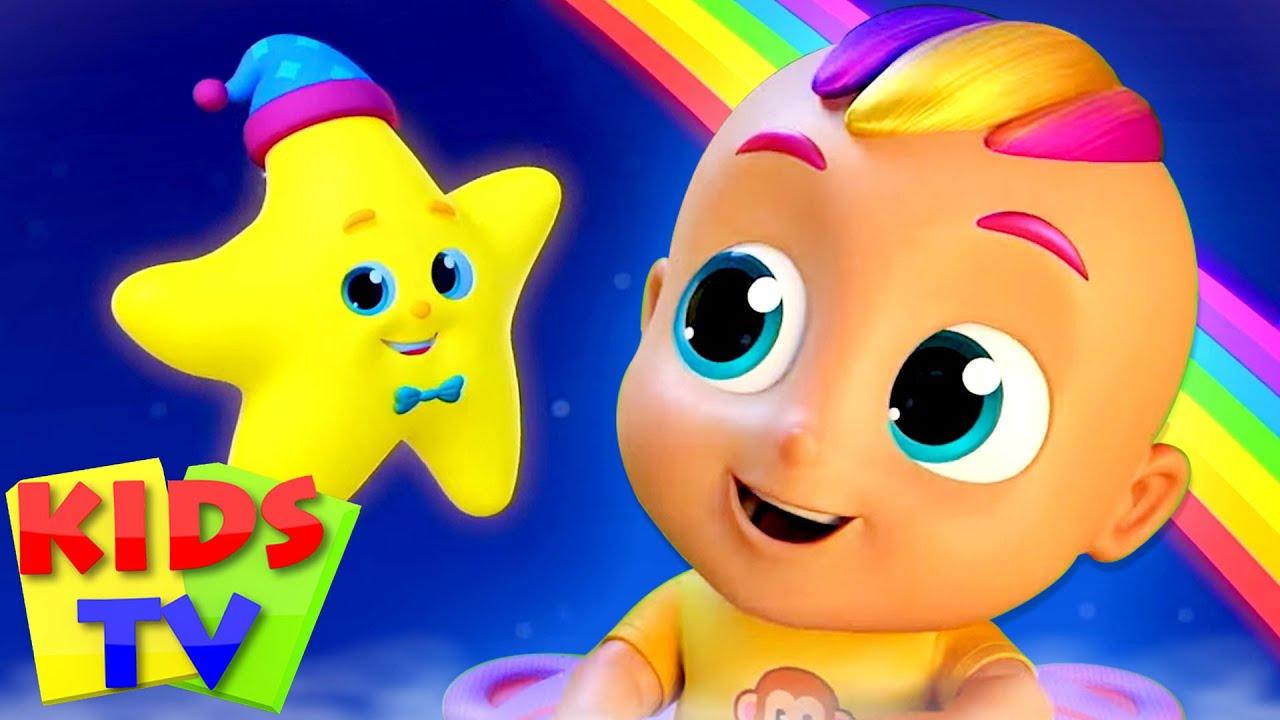 Twinkle Twinkle Little Star | Nursery Rhymes & Baby Songs | Kids Cartoon | Lullaby Song by Kids Tv