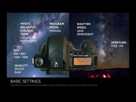 Capturing the Cosmos - Beginner DSLR Night Sky Photography by PhotographingSpace.com