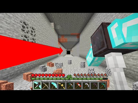 Minecraft but there are Custom Pickaxes…