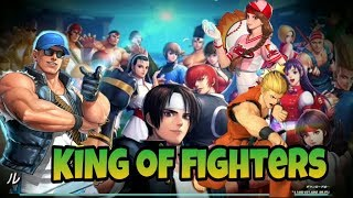 KOF All Star Fighting Gameplay for Android