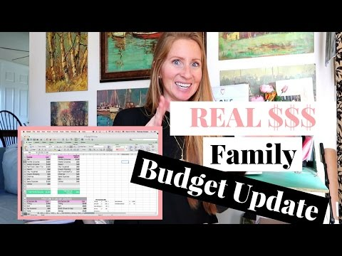 February 2017 One Income Family Budget Update | How to Budget on One Income