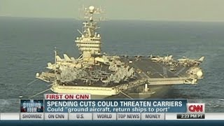 Budget could force U.S. carrier cuts