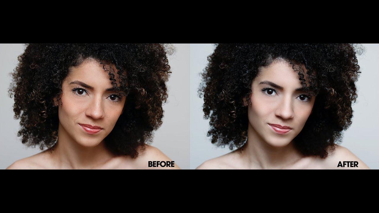 Adobe Photoshop – Cách Retouch da tự nhiên