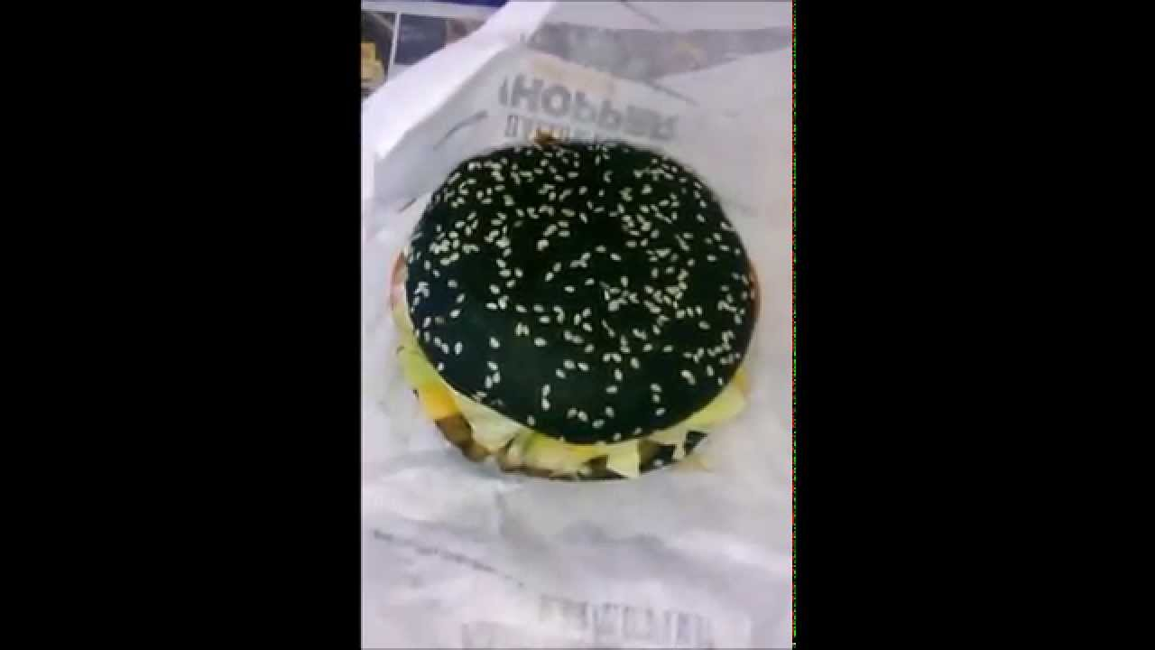 Thoughts. I haz them: Burger King's Halloween Whopper - YouTube