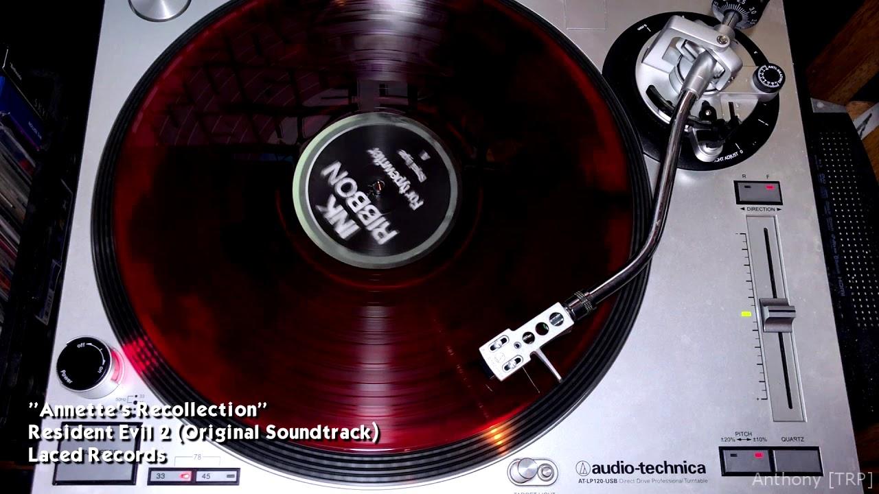 Resident Evil 2 Original Soundtrack Side A Vinyl Rip Laced