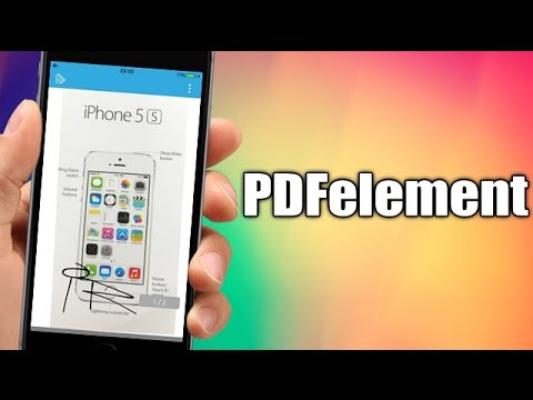 PDFelement - Scan Documents With Your iPhone, PDF Editor, Converter And Reader