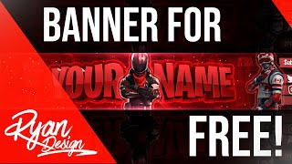 FREE CUSTOMIZED FORTNITE BANNER! [ENG]