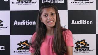 Ayushi Acting Student@IT Entertainment 2