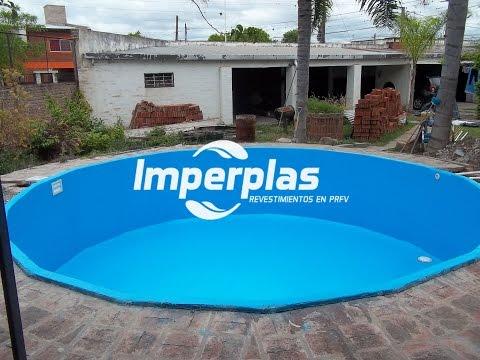 Imperplas revestimiento de piscinas con fibra de vidrio y for Piscina resina