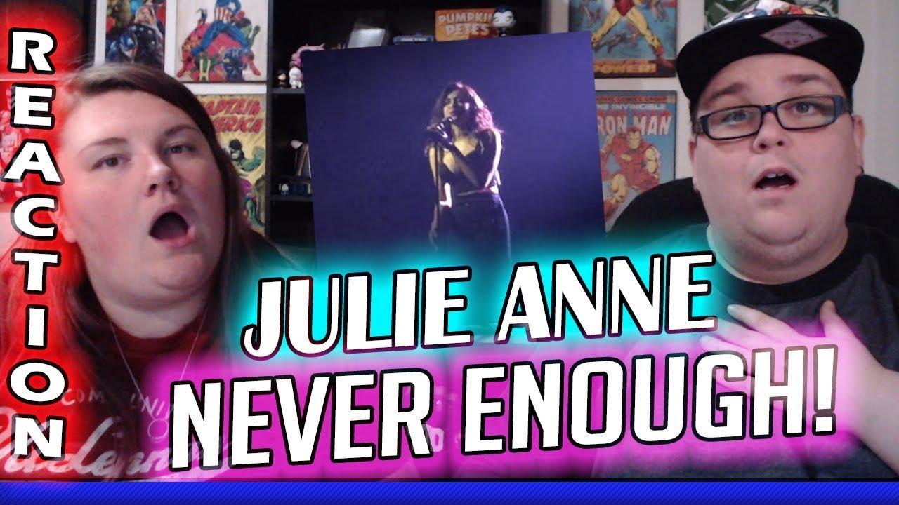 Never Enough The Greatest Showman Julie Anne San Jose Reaction