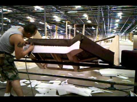 Hoy tapizando otra banda de sillon para esquina youtube - Como tapizar una descalzadora ...