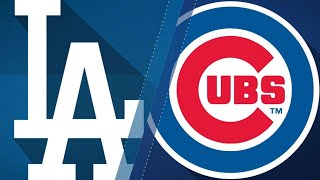 Baez, Schwarber lead Cubs to 4-0 victory: 6/20/18