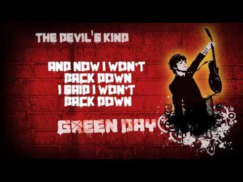 Green Day - The Devil's Kind (lyrics)