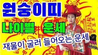 (충주점집)2021년 신년 원숭이띠 나이별 대박 운세(…