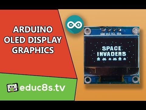 Arduino Tutorial: OLED Display Bitmap Graphics on Arduino Uno using U8g  library
