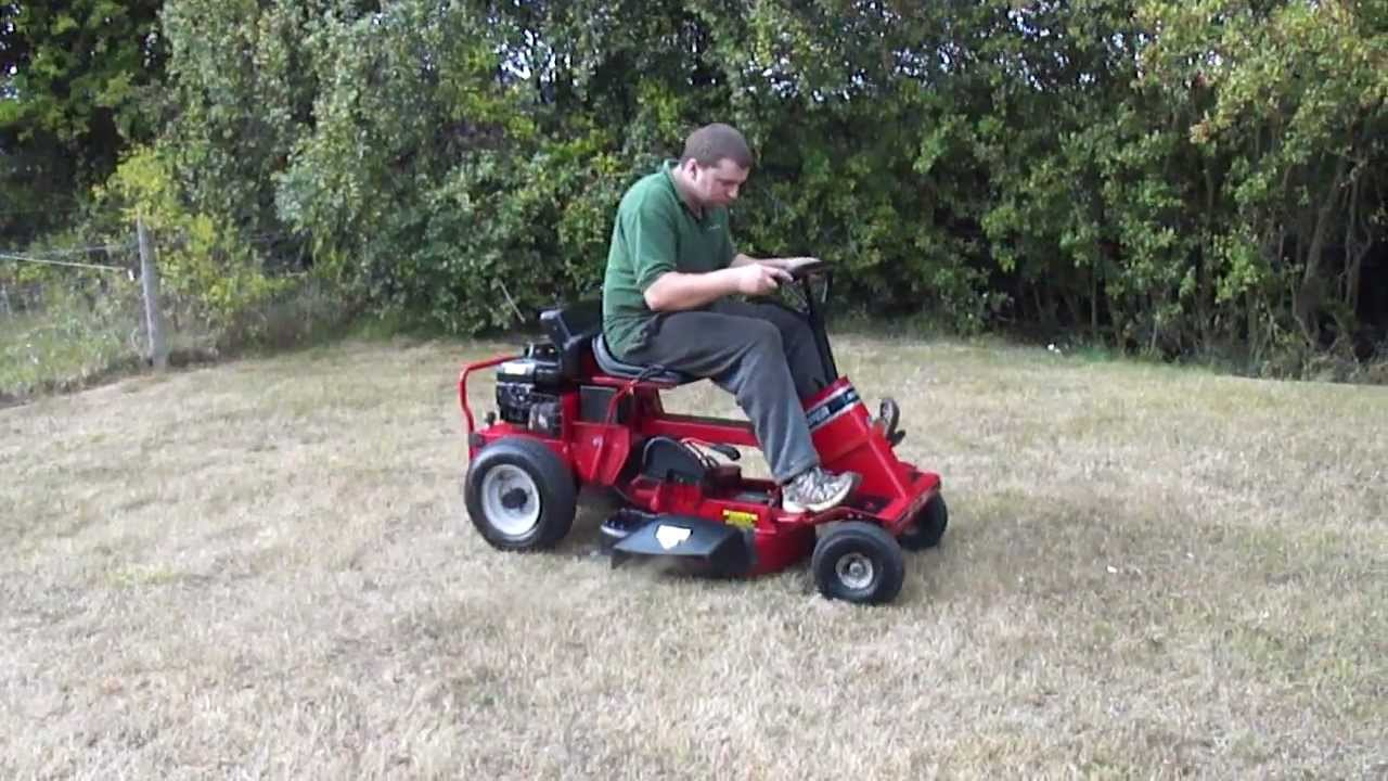 how to silence a ride on mower