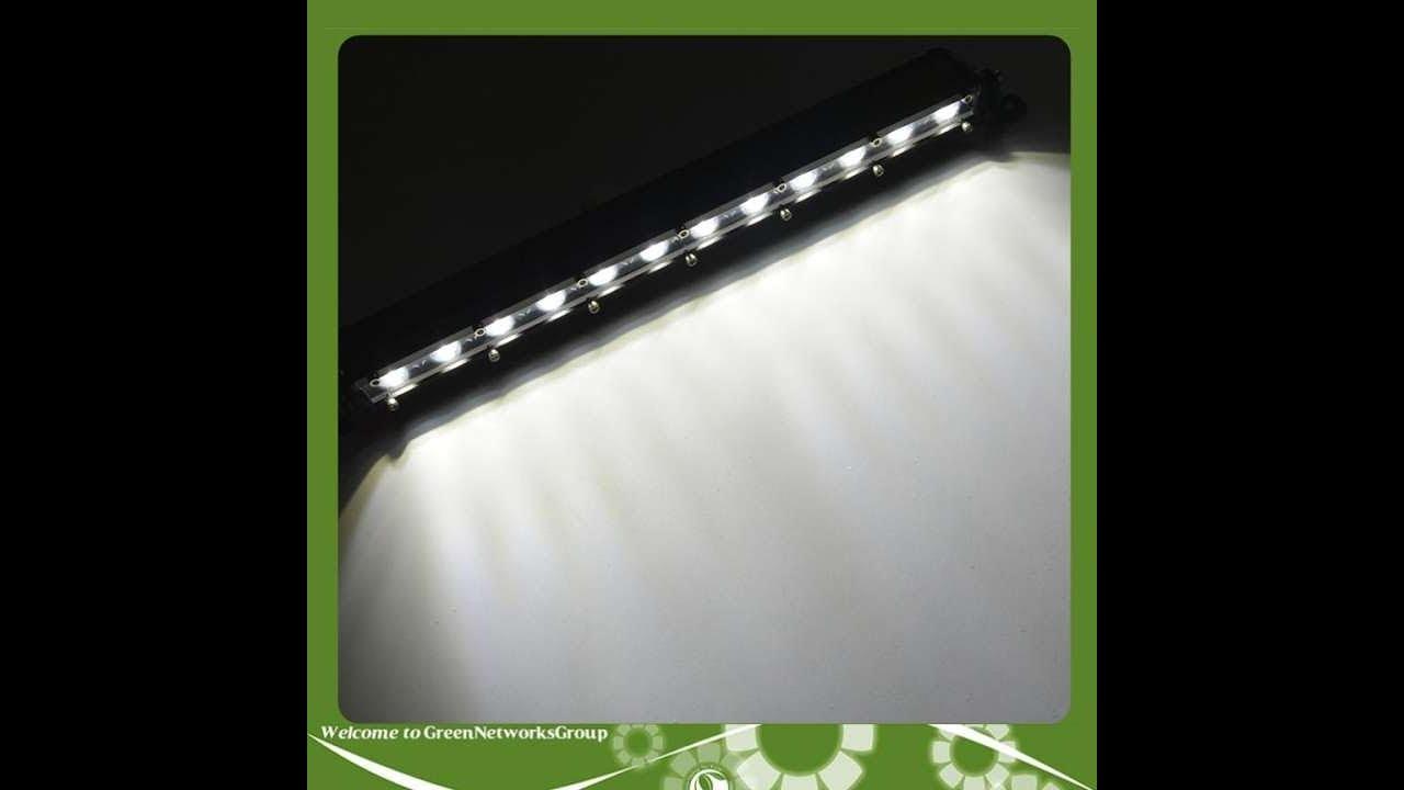 Đèn pha led bar offroad 12 bóng dành cho ôtô GreenNetworks ánh sáng trắng 0967067706