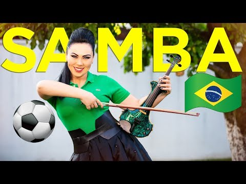 Samba Do Brasil 🇧🇷⚽️Electric Violin Cristina Kiseleff (Cover Bellini) FIFA World Cup