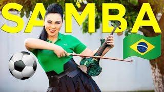 Samba Do Brasil 🇧🇷⚽️Electric Violin Cristina Kiseleff (Cover Bellini) FIFA World Cup - samba music brazil carnival