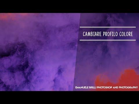 Convertire il PROFILO COLORE in Photoshop - Tutorial Photoshop thumbnail