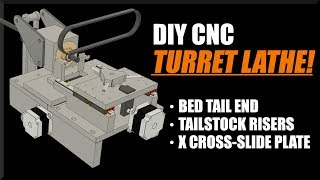 DIY CNC Turret Lathe - Part 2! WW206