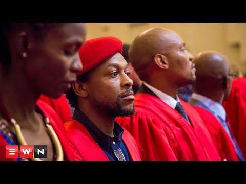 EFF's Mbuyiseni Ndlozi Graduates