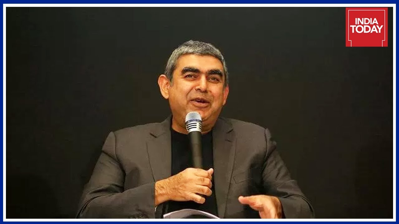 Vishal sikka speaks to india today over his resignation as infosys ceo md