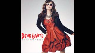 Demi Lovato - Trainwreck Karaoke / Instrumental with backing vocals and lyrics