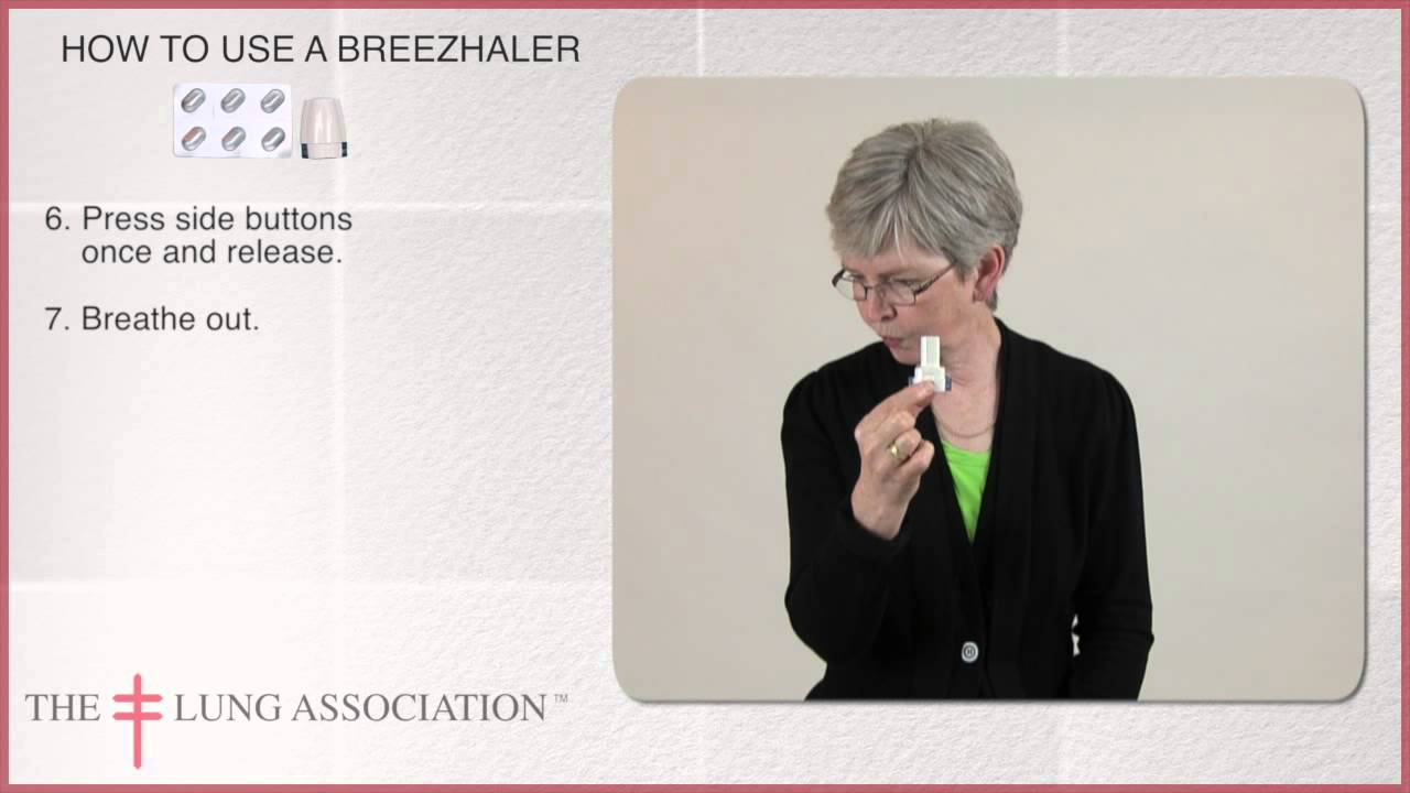 How to use your Breezhaler - YouTube