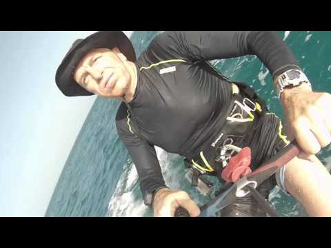 Cape verde sal riu funana beach and  kites crash!! And Water start