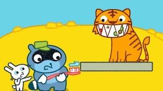 Pango Zoo/Зоопарк Енота Панго.Смешной и Веселый Интерактивный Игровой Мультик