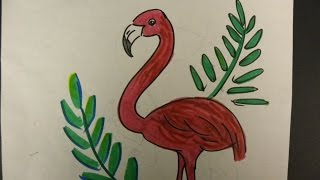 Kids Can Draw: Flamingo