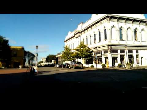 Walking Tour of Old Town Eureka, Humboldt County California