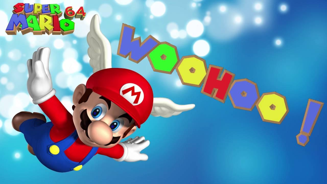 [Super Mario 64] Mario - WOOHOO ! Sound Effect [Free Ringtone Download]