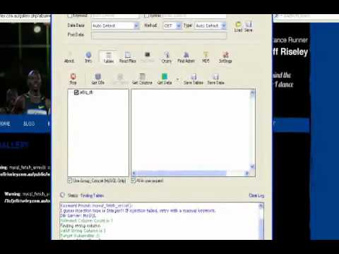 How To Hack Websites With SQL Injection Using Havij ..samply