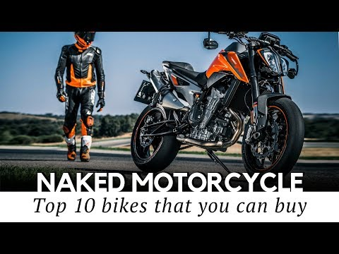 Top 10 Naked Motorcycles And Standard Bikes (Models For Beginner And Expert Riders)