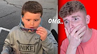 Blind Boy SEES FOR THE FIRST TIME.. (CRIES)